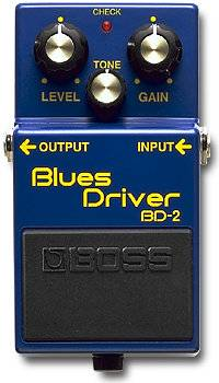 Boss BD-2 Blues Driver Fat Heifer Mod