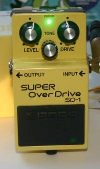 Boss SD-1 'Ewe Screamer' Mod