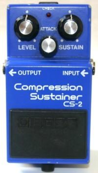 BOSS CS-2 Compression Sustainer MIJ