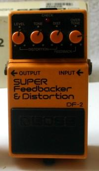 BOSS DF-2 SUPER FEEDBACKER & DISTORTION